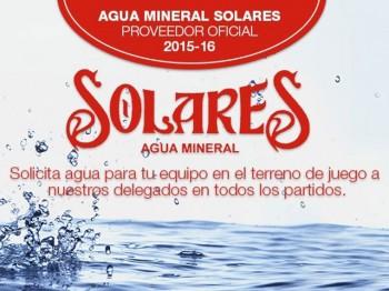 Agua de Solares con el deporte